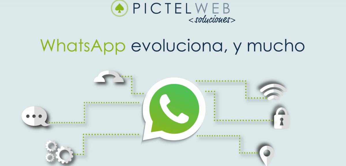 WhatsApp evoluciona, y mucho