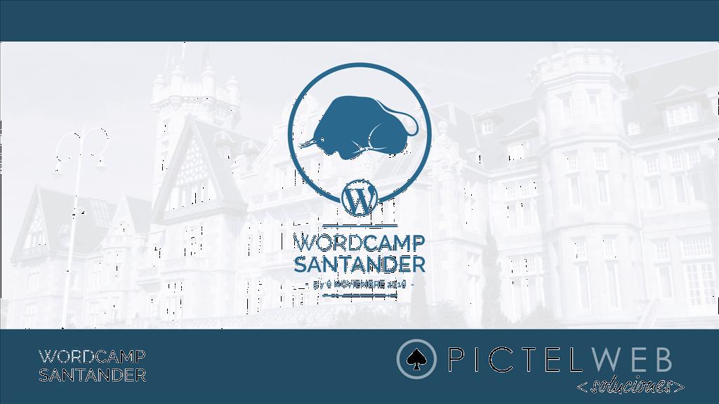 Pictel Soluciones Web y la WordCamp Santander