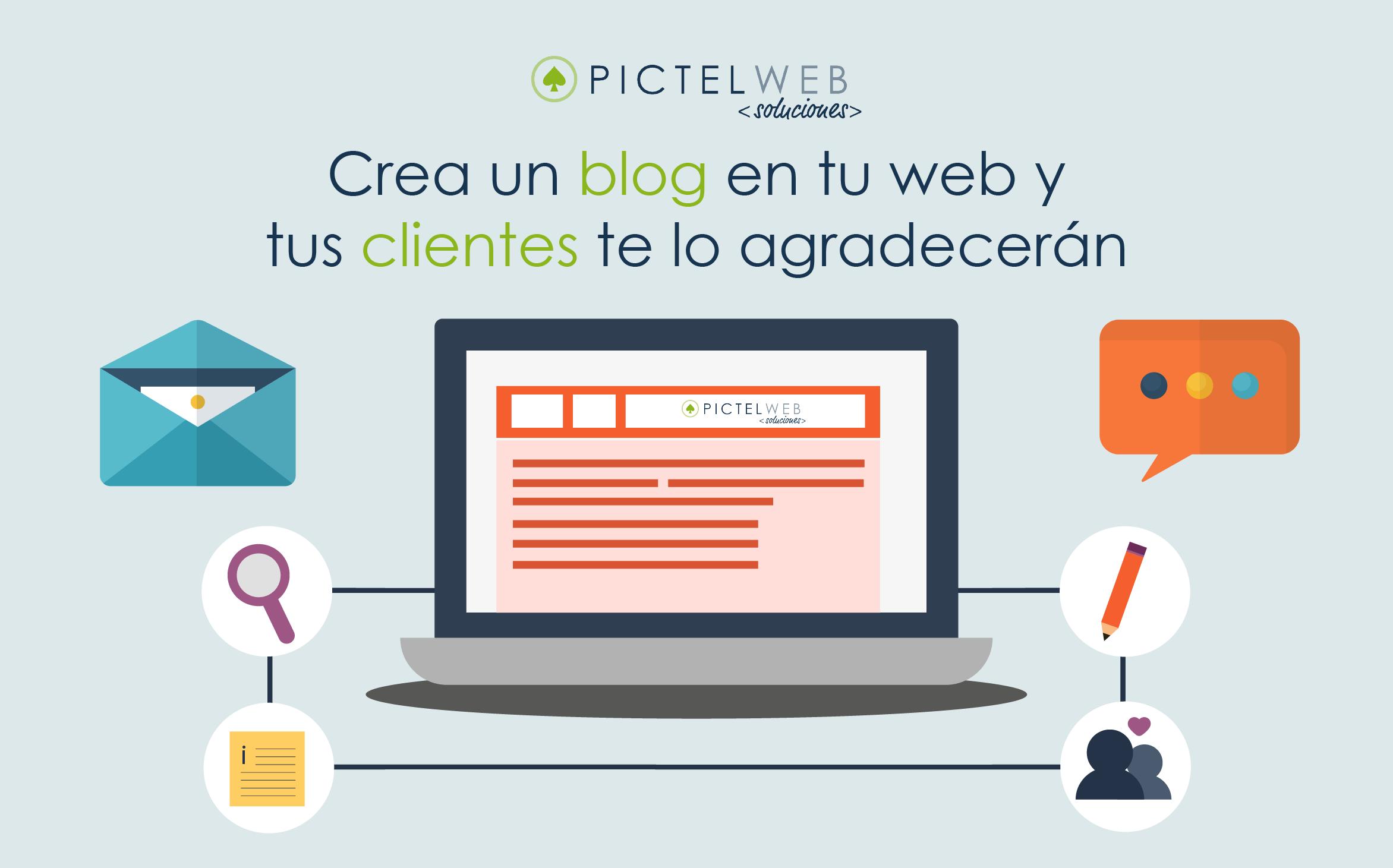 Crea un blog en tu web y tus clientes te lo agradecerán