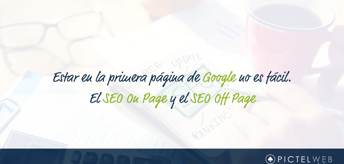 El SEO On Page y el SEO Off Page